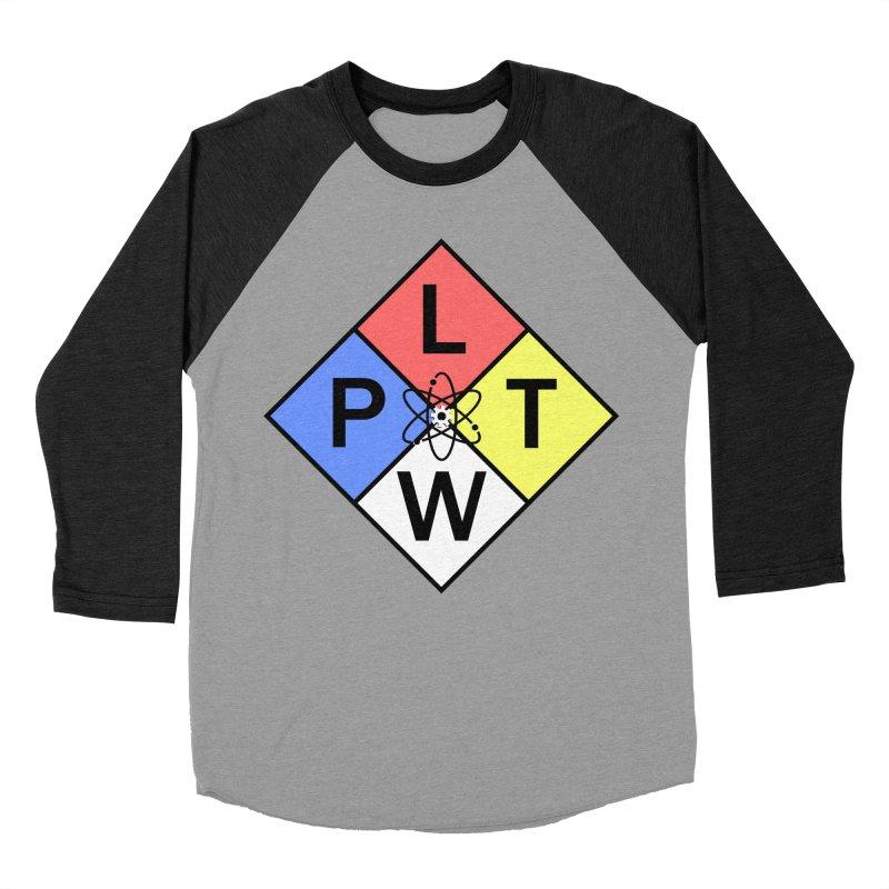 Project Lead The Way Men's Baseball Triblend Longsleeve T-Shirt by Sandburg Middle School's Artist Shop