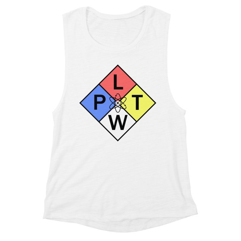 Project Lead The Way Women's Muscle Tank by Sandburg Middle School's Artist Shop