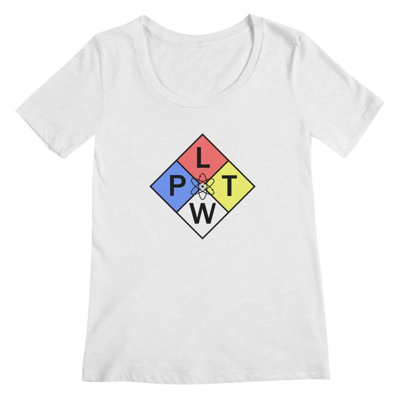 Project Lead The Way Women's Scoop Neck by Sandburg Middle School's Artist Shop
