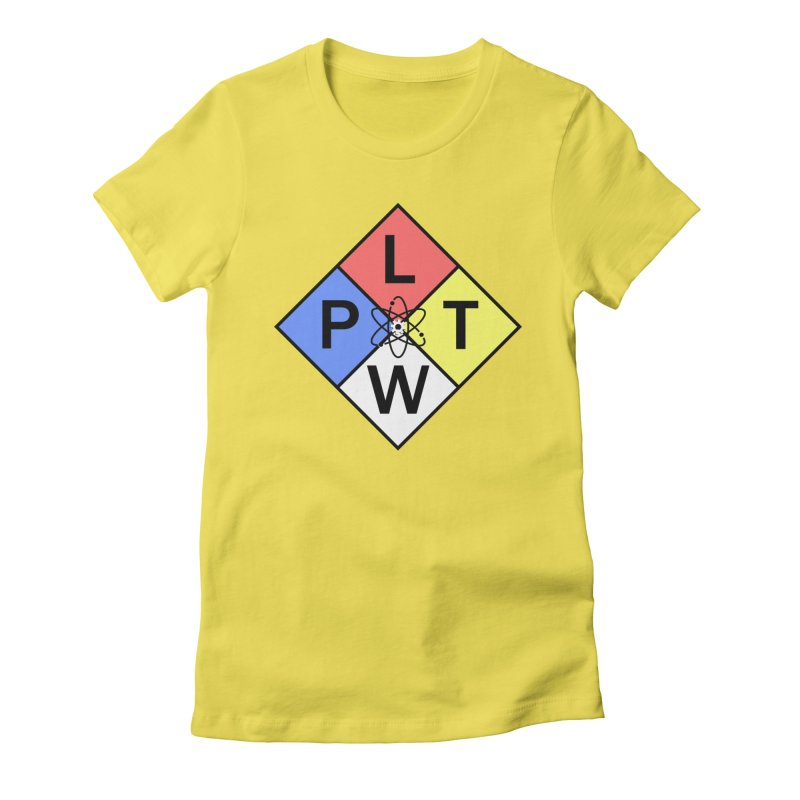 Project Lead The Way Women's Fitted T-Shirt by Sandburg Middle School's Artist Shop