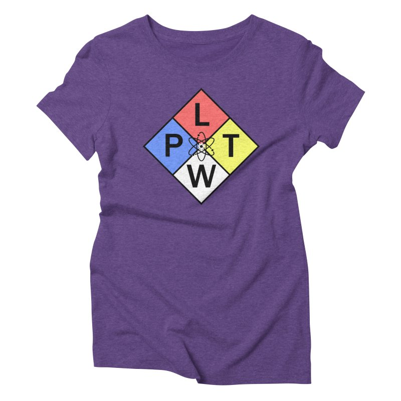 Project Lead The Way Women's Triblend T-Shirt by Sandburg Middle School's Artist Shop