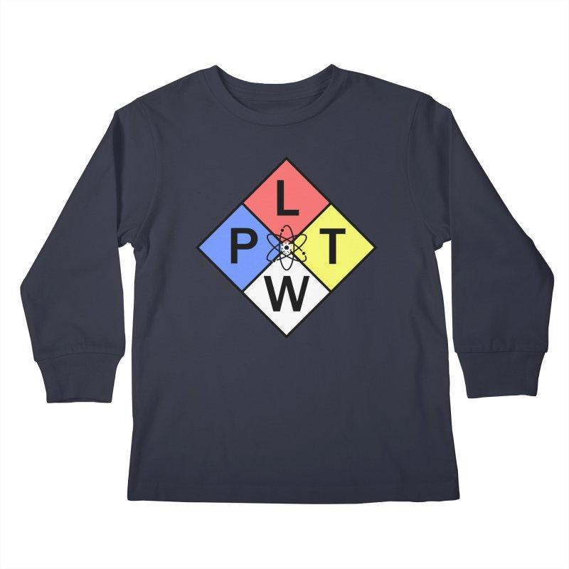 Project Lead The Way Kids Longsleeve T-Shirt by Sandburg Middle School's Artist Shop