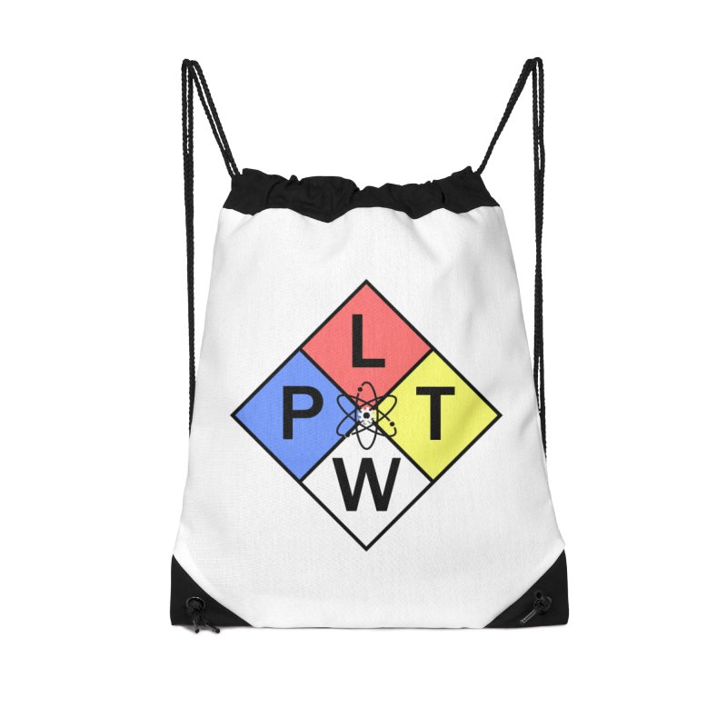 Project Lead The Way Accessories Drawstring Bag Bag by Sandburg Middle School's Artist Shop