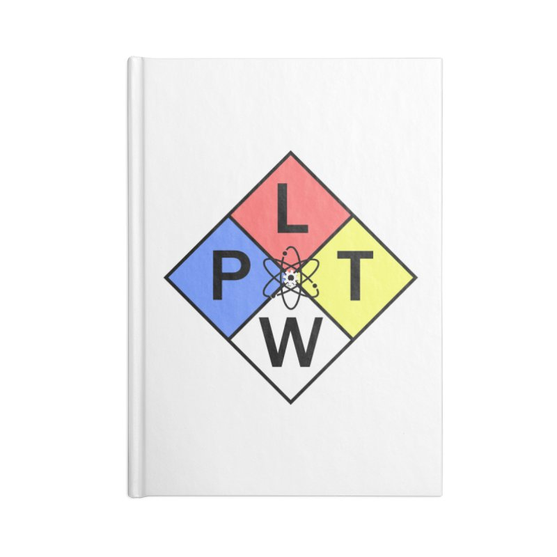Project Lead The Way Accessories Blank Journal Notebook by Sandburg Middle School's Artist Shop