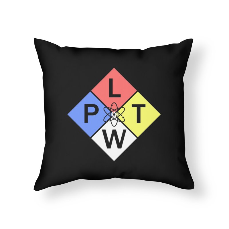 Project Lead The Way Home Throw Pillow by Sandburg Middle School's Artist Shop