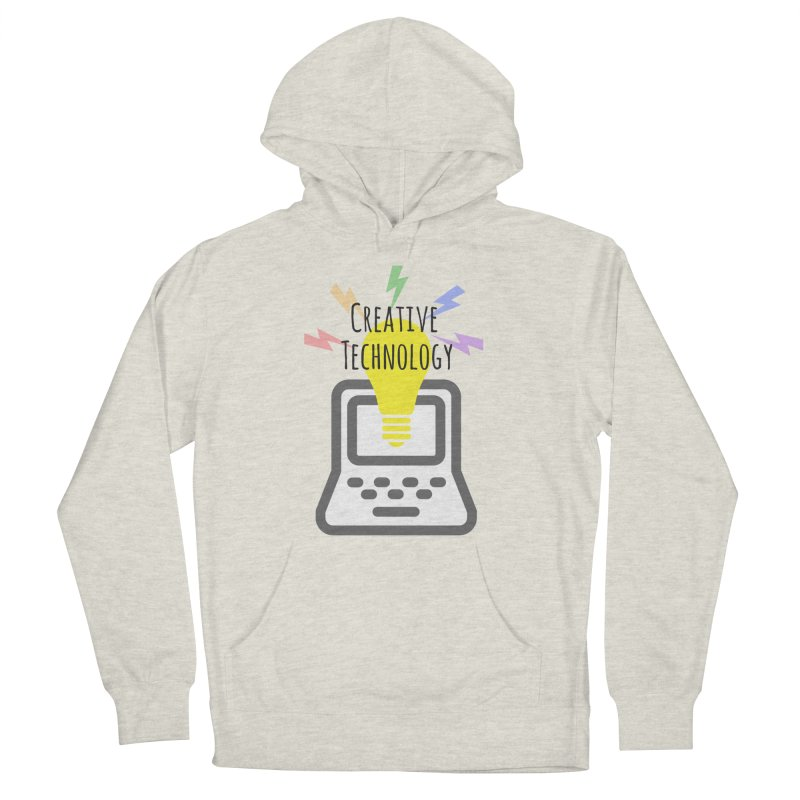 Creative Technology Women's French Terry Pullover Hoody by Sandburg Middle School's Artist Shop