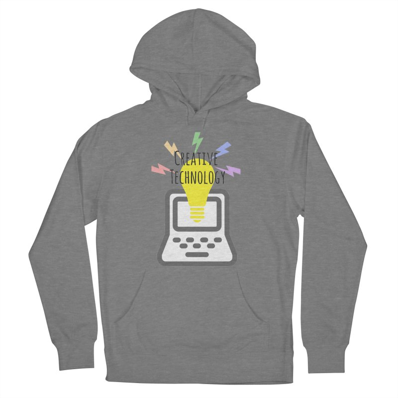 Creative Technology Men's French Terry Pullover Hoody by Sandburg Middle School's Artist Shop