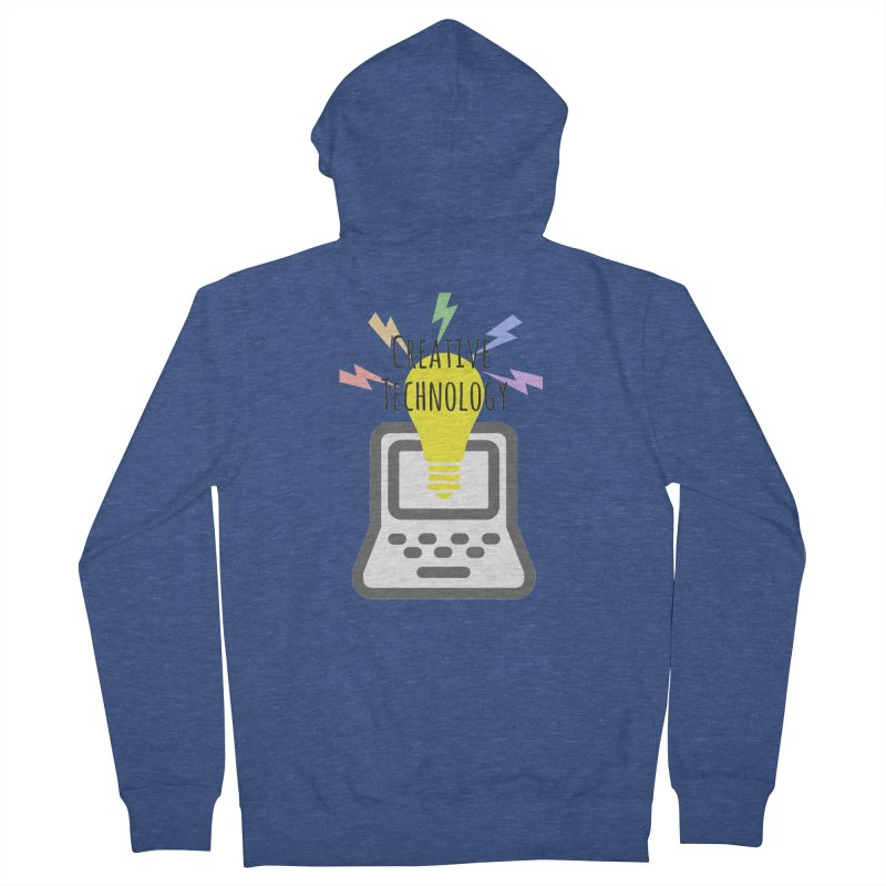 Creative Technology Women's French Terry Zip-Up Hoody by Sandburg Middle School's Artist Shop