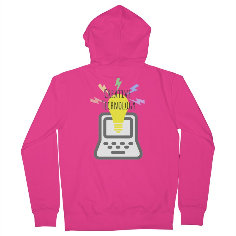 Creative Technology Men's French Terry Zip-Up Hoody by Sandburg Middle School's Artist Shop