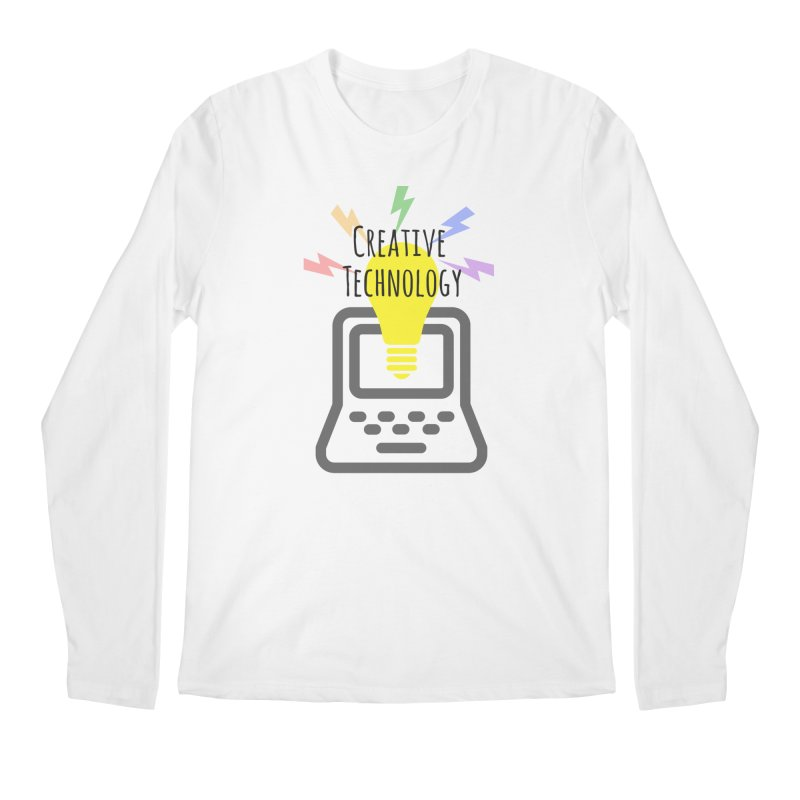 Creative Technology Men's Regular Longsleeve T-Shirt by Sandburg Middle School's Artist Shop