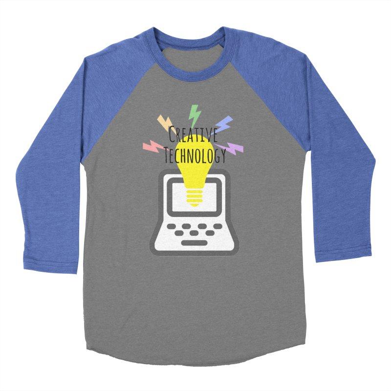 Creative Technology Women's Baseball Triblend Longsleeve T-Shirt by Sandburg Middle School's Artist Shop