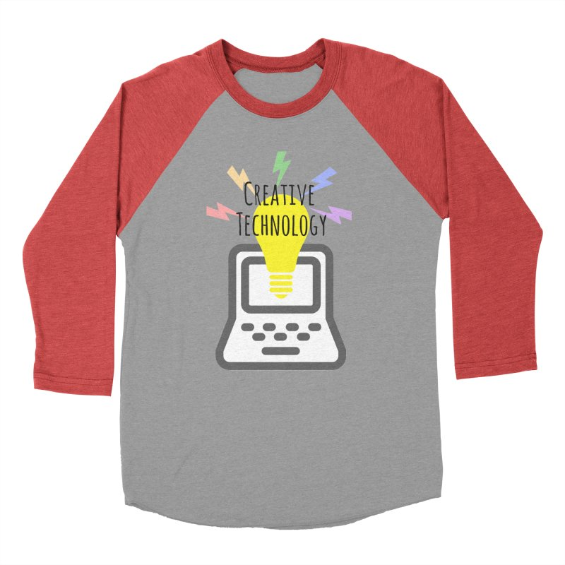 Creative Technology Men's Baseball Triblend Longsleeve T-Shirt by Sandburg Middle School's Artist Shop