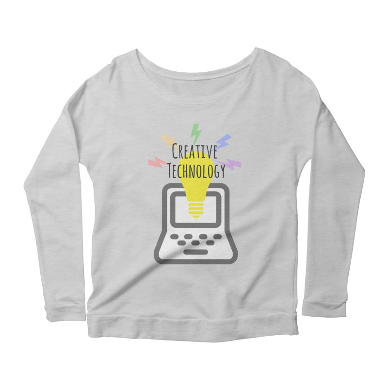 Creative Technology Women's Scoop Neck Longsleeve T-Shirt by Sandburg Middle School's Artist Shop