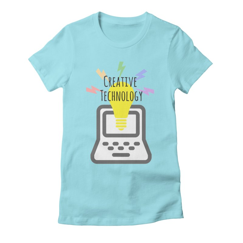 Creative Technology Women's Fitted T-Shirt by Sandburg Middle School's Artist Shop