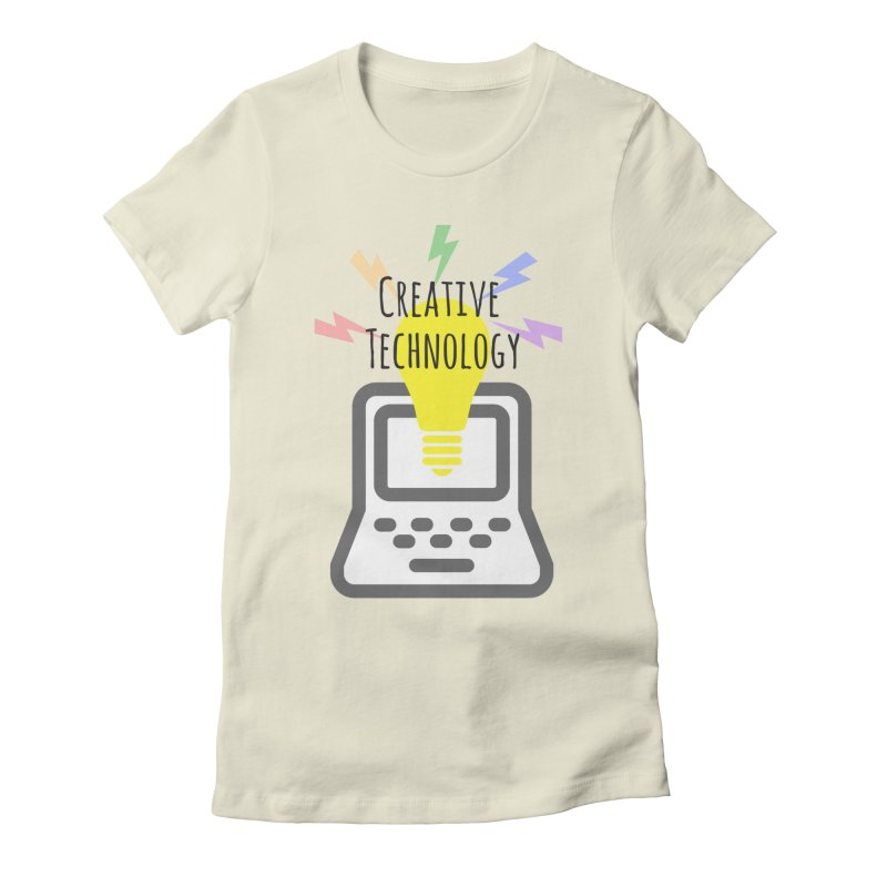 Creative Technology Women's Fitted T-Shirt by Sandburg Middle School's Artist Shop