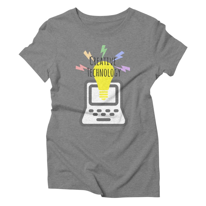 Creative Technology Women's Triblend T-Shirt by Sandburg Middle School's Artist Shop