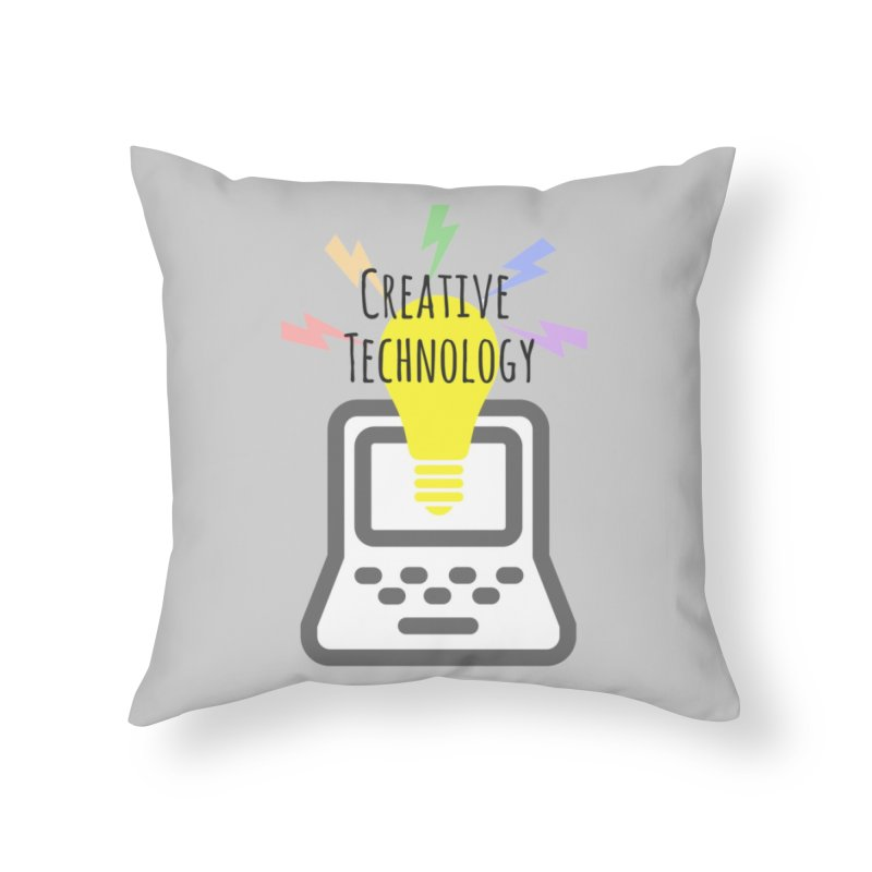 Creative Technology Home Throw Pillow by Sandburg Middle School's Artist Shop