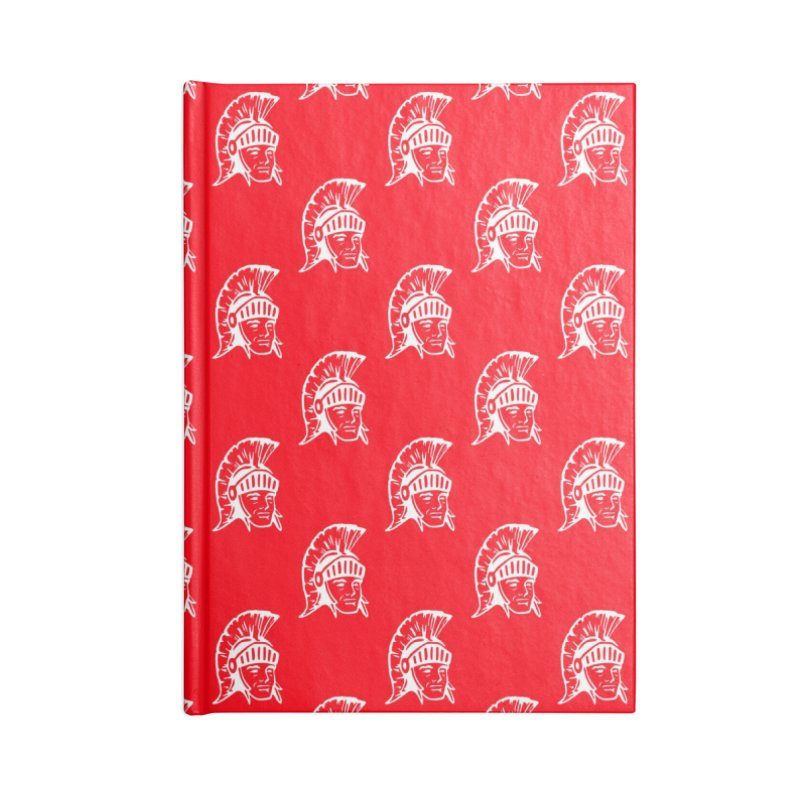 Spartan All-Over Print! Accessories Blank Journal Notebook by Sandburg Middle School's Artist Shop