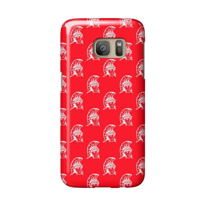 Spartan All-Over Print! Accessories Phone Case by Sandburg Middle School's Artist Shop