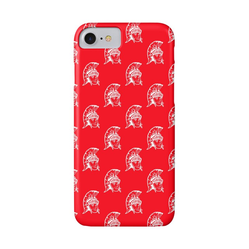 Spartan All-Over Print! Accessories Phone Case by Sandburg Middle School's Artist Shop