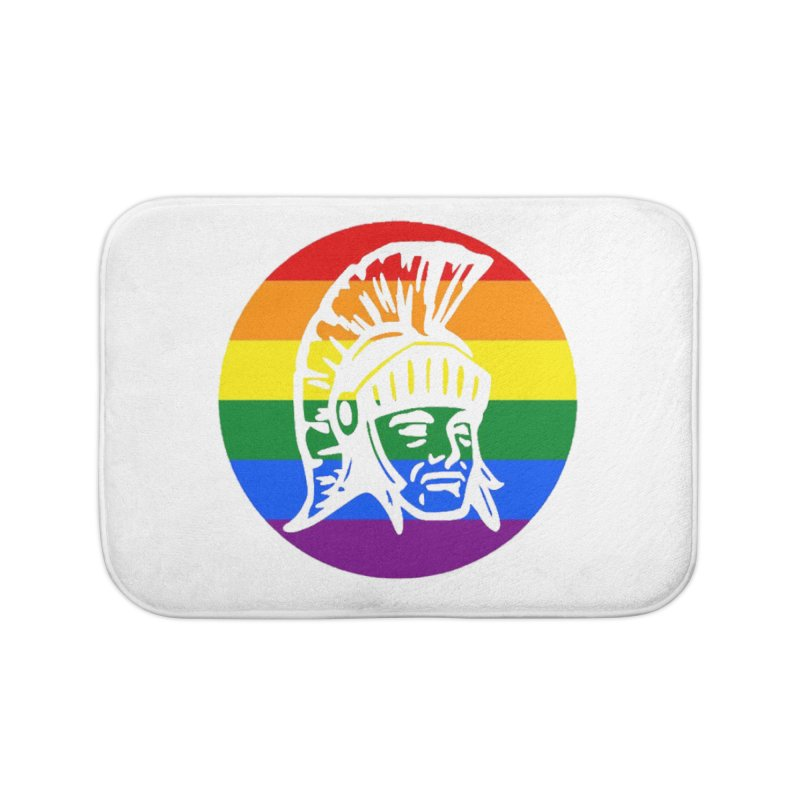 Spartan Circle (GSA) Home Bath Mat by Sandburg Middle School's Artist Shop