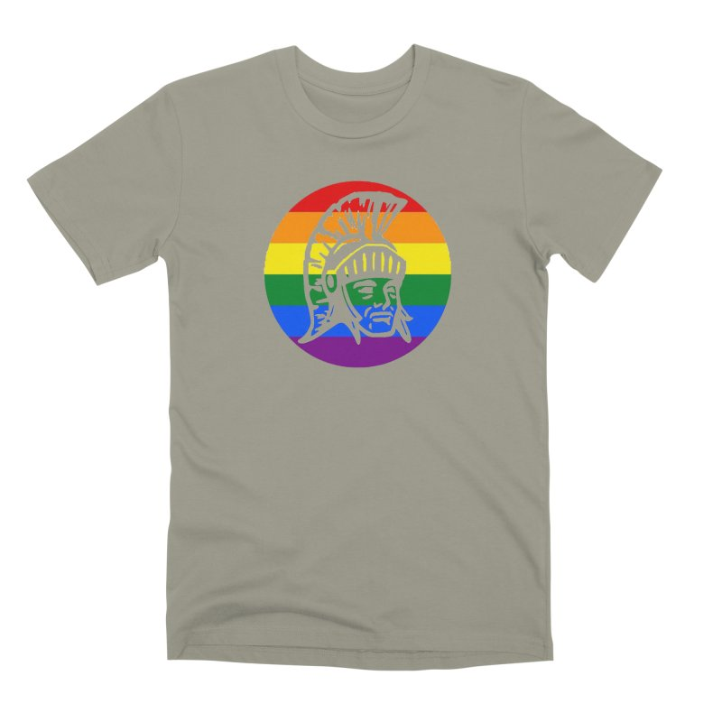 Spartan Circle (GSA) Men's Premium T-Shirt by Sandburg Middle School's Artist Shop
