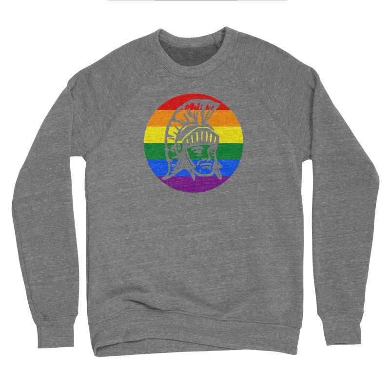 Spartan Circle (GSA) Men's Sponge Fleece Sweatshirt by Sandburg Middle School's Artist Shop