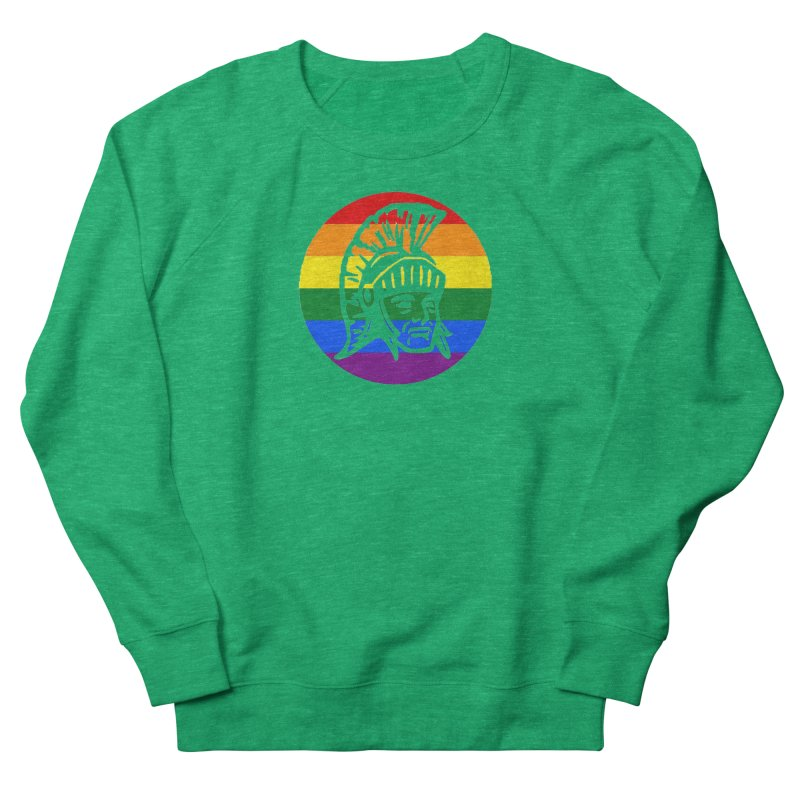 Spartan Circle (GSA) Women's Sweatshirt by Sandburg Middle School's Artist Shop
