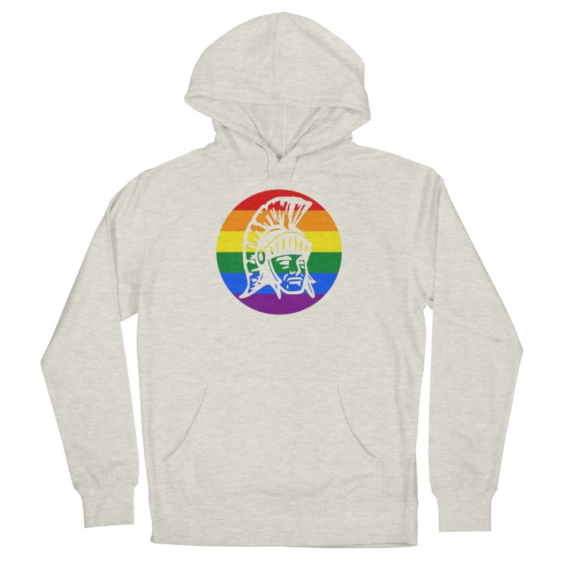 Spartan Circle (GSA) Women's French Terry Pullover Hoody by Sandburg Middle School's Artist Shop