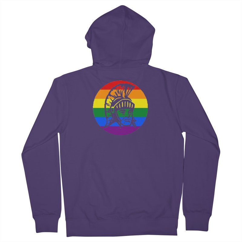 Spartan Circle (GSA) Women's French Terry Zip-Up Hoody by Sandburg Middle School's Artist Shop