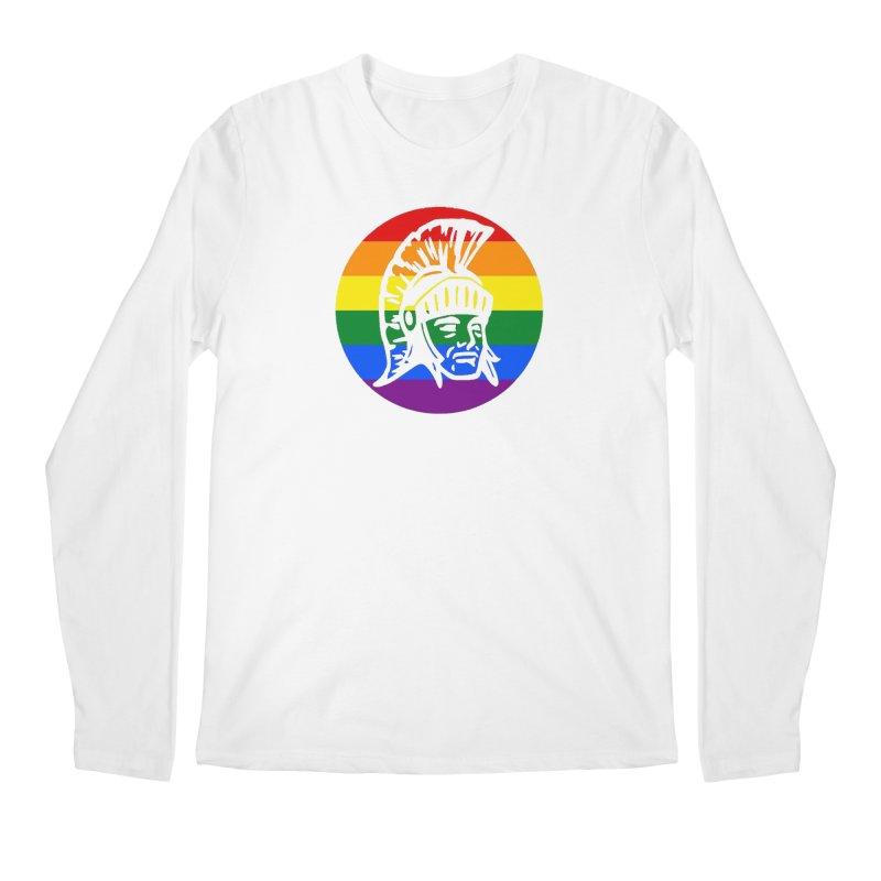 Spartan Circle (GSA) Men's Regular Longsleeve T-Shirt by Sandburg Middle School's Artist Shop