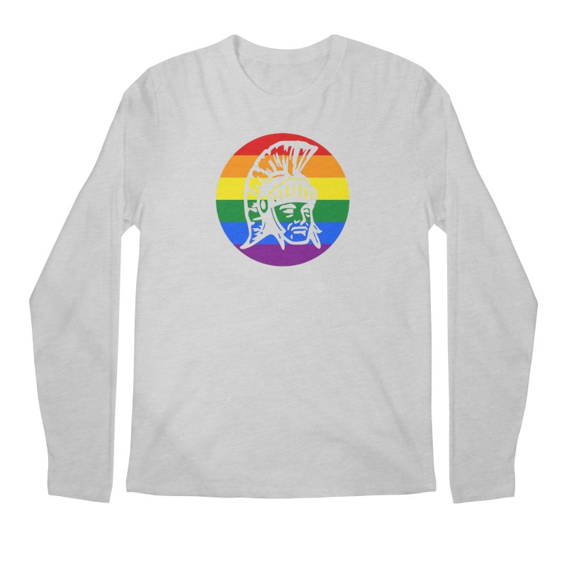 Spartan Circle (GSA) Men's Regular Longsleeve T-Shirt by Sandburg Middle School's Artist Shop