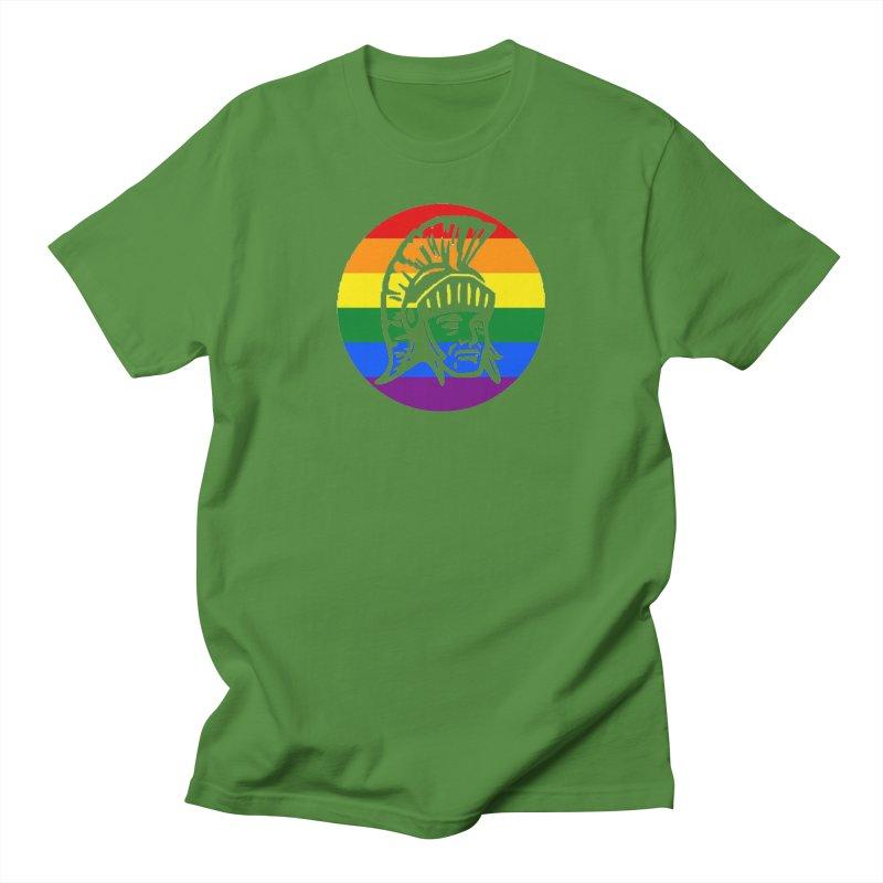 Spartan Circle (GSA) Men's Regular T-Shirt by Sandburg Middle School's Artist Shop