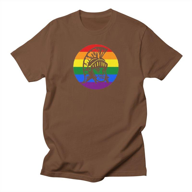 Spartan Circle (GSA) Women's Regular Unisex T-Shirt by Sandburg Middle School's Artist Shop