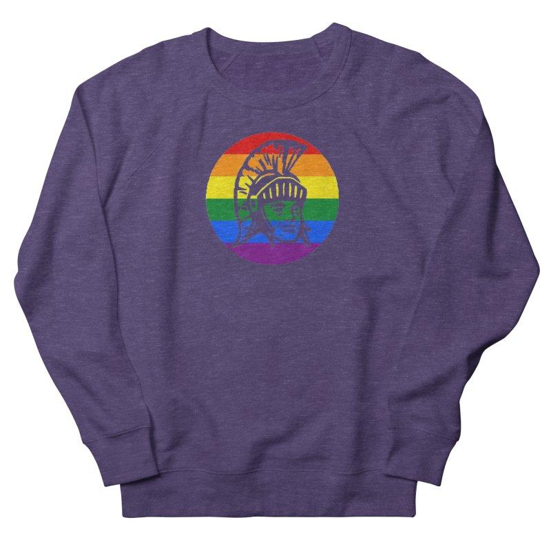 Spartan Circle (GSA) Men's French Terry Sweatshirt by Sandburg Middle School's Artist Shop