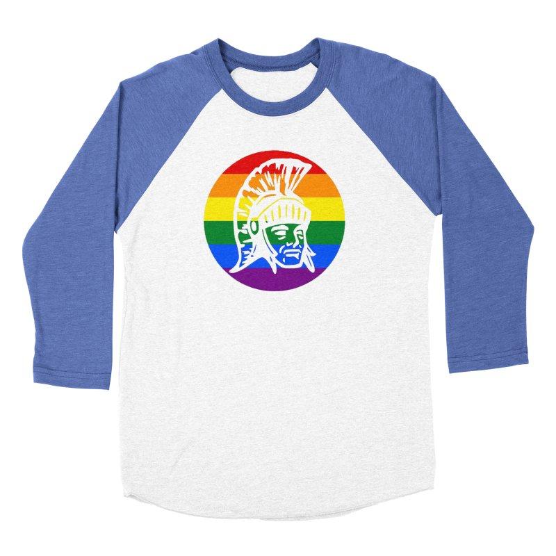 Spartan Circle (GSA) Men's Baseball Triblend Longsleeve T-Shirt by Sandburg Middle School's Artist Shop