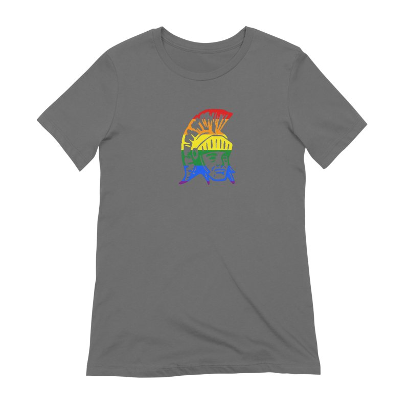 Spartan Head (GSA) Women's T-Shirt by Sandburg Middle School's Artist Shop