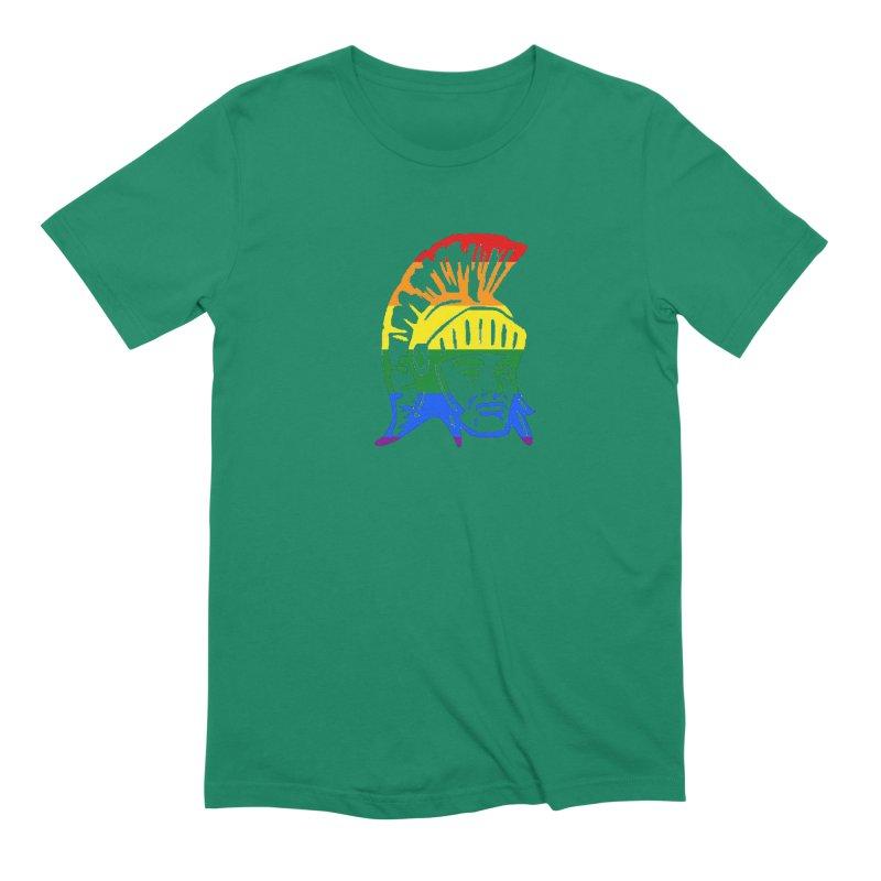 Spartan Head (GSA) Men's T-Shirt by Sandburg Middle School's Artist Shop
