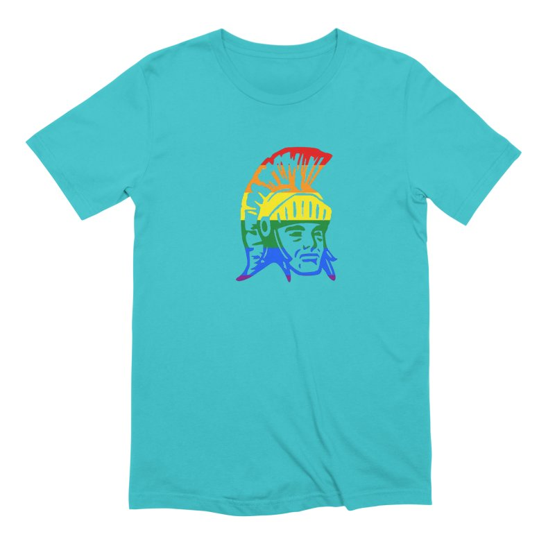 Spartan Head (GSA) Men's Extra Soft T-Shirt by Sandburg Middle School's Artist Shop