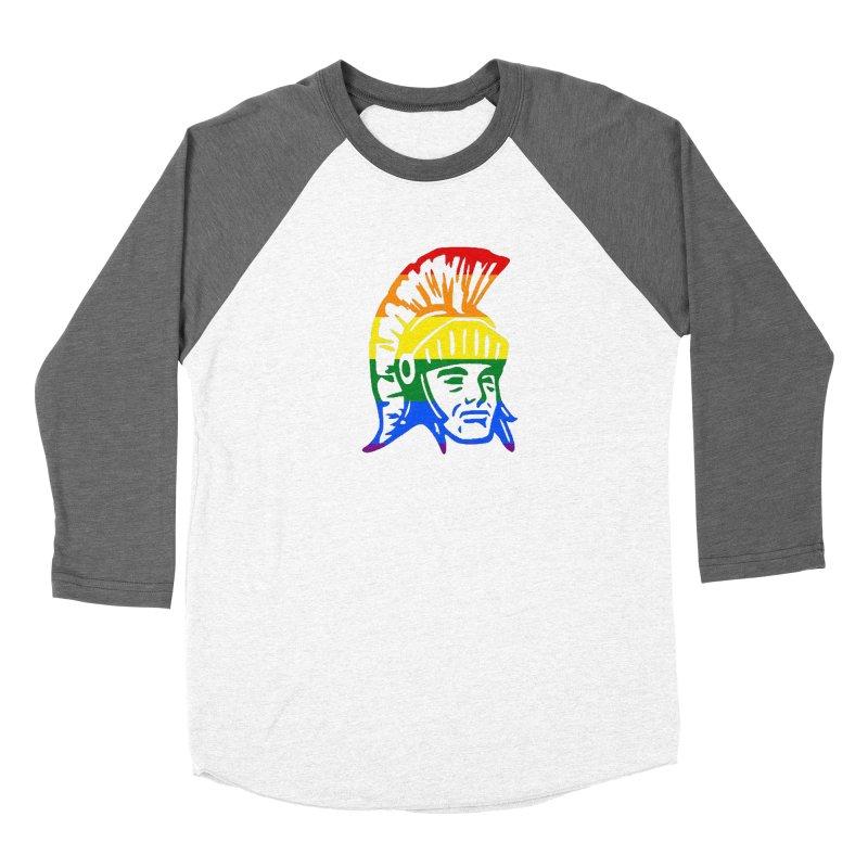 Spartan Head (GSA) Women's Longsleeve T-Shirt by Sandburg Middle School's Artist Shop