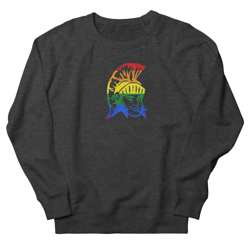 Spartan Head (GSA) Women's French Terry Sweatshirt by Sandburg Middle School's Artist Shop