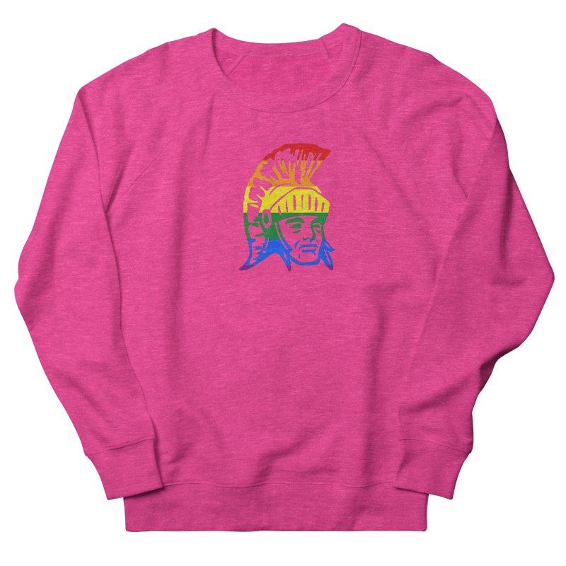 Spartan Head (GSA) Women's French Terry Sweatshirt by Sandburg Middle School's Artist Shop