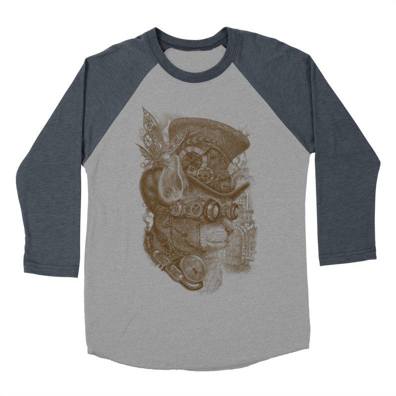 The Observer Women's Baseball Triblend T-Shirt by Windville's Artist Shop