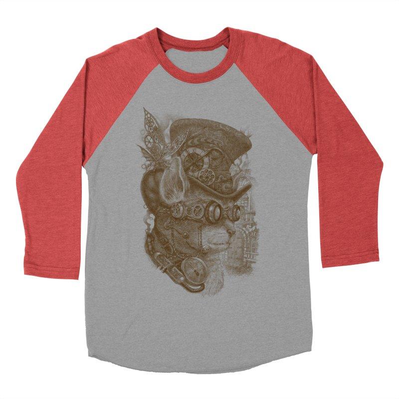 The Observer Men's Baseball Triblend T-Shirt by Windville's Artist Shop