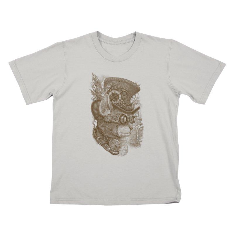 The Observer Kids T-Shirt by Windville's Artist Shop
