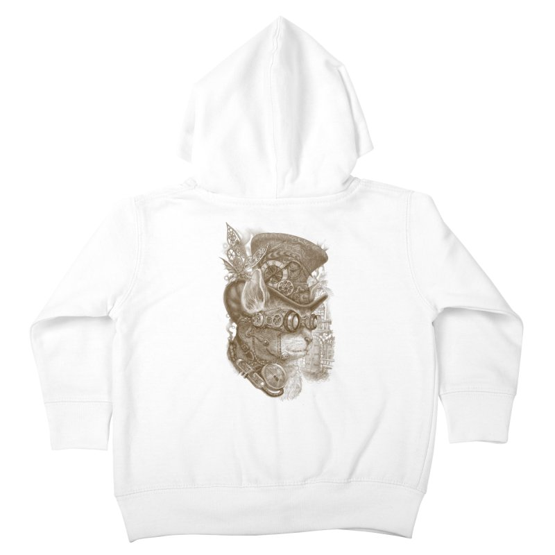 The Observer Kids Toddler Zip-Up Hoody by Windville's Artist Shop