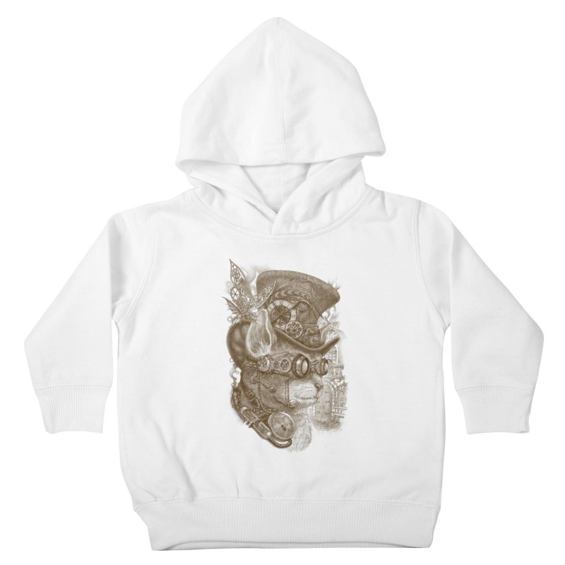 The Observer Kids Toddler Pullover Hoody by Windville's Artist Shop