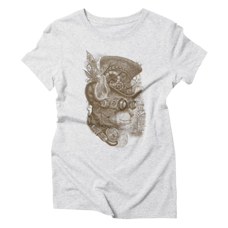 The Observer Women's Triblend T-Shirt by Windville's Artist Shop