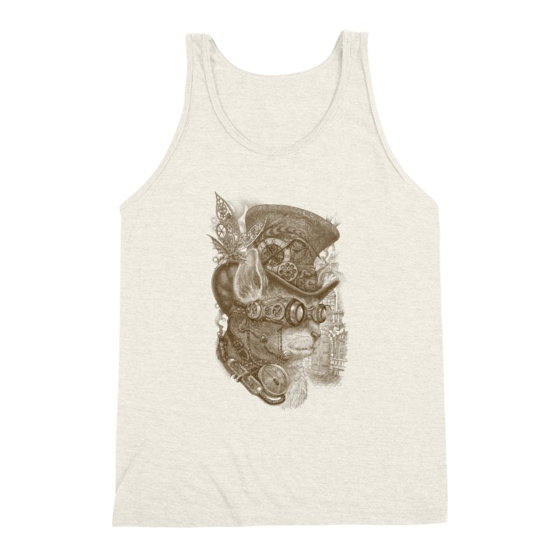 The Observer Men's Triblend Tank by Windville's Artist Shop