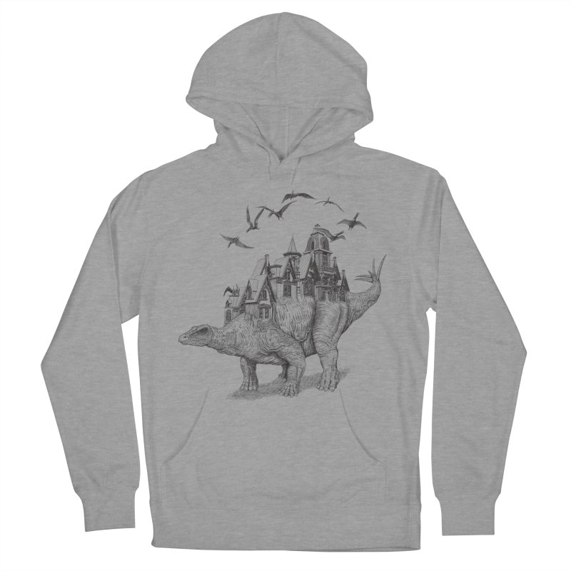 Stegoland Men's Pullover Hoody by Windville's Artist Shop